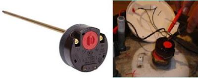ترموستات السخان الكهربائي (الوظيفة-الاعطال -الفحص )