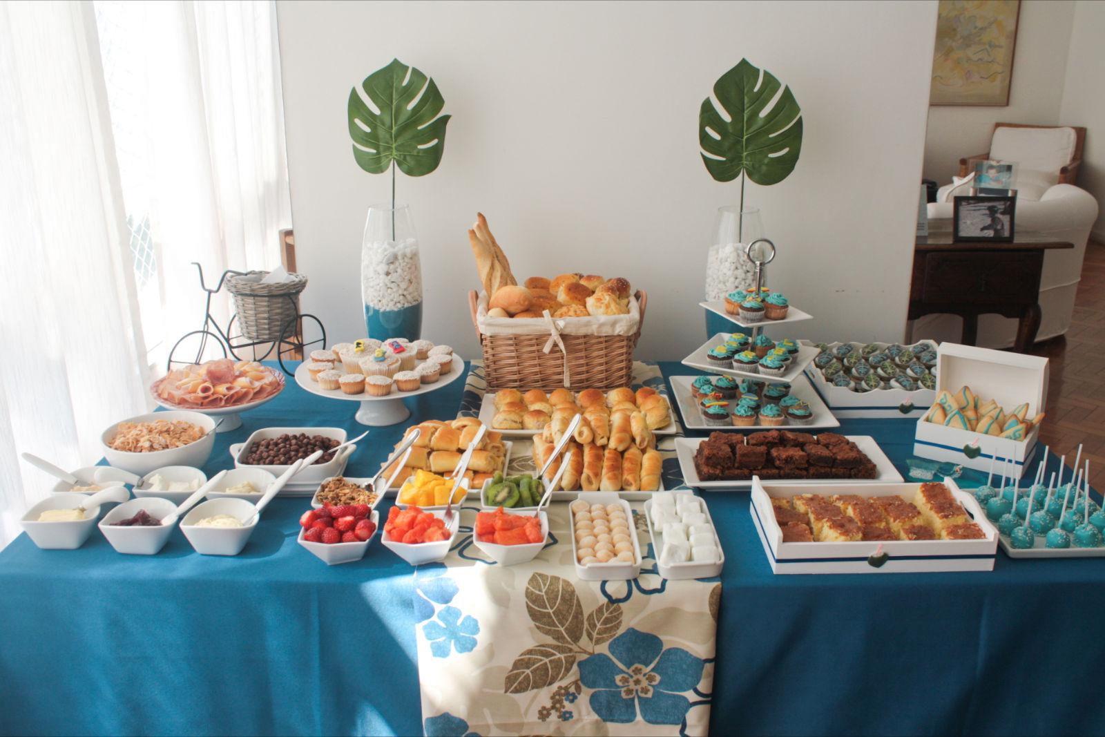Gi Oliver Buffet mesas de cafe da manha e sobremesas