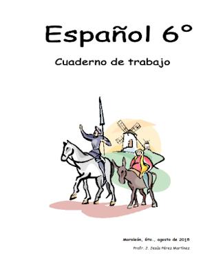 Fichas de trabajo para español sexto de primaria