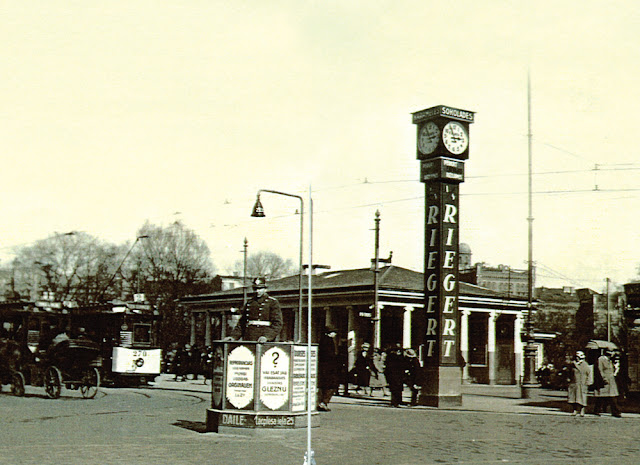 """1930-е года. Часы """"Riegert"""""""