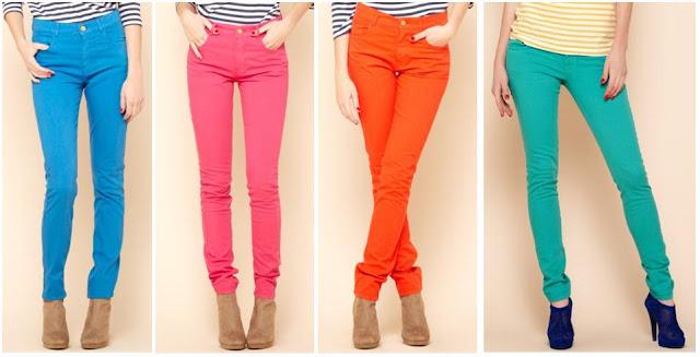 c35f32f45788ab ... om onze zomerkleedjes en sandalen aan te trekken... Maar wij kunnen  alvast niet meer wachten om onze kleurrijke skinny jeans naar boven te halen .