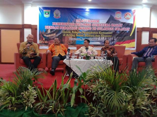 Mardison Ajak Perantau Minang di Sulawesi Selatan Bangun Hotel Berbintang di Pariaman