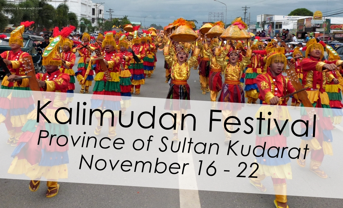 See you in Kalimudan Festival of Sultan Kudarat, see schedule of activities here!