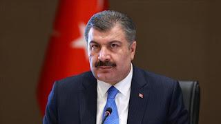 وزير الصحة التركي يعلن عن حصيلة جديدة للإصابات والوفيات بفايروس كورونا