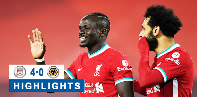 Liverpool vs Wolverhampton Wanderers – Highlights