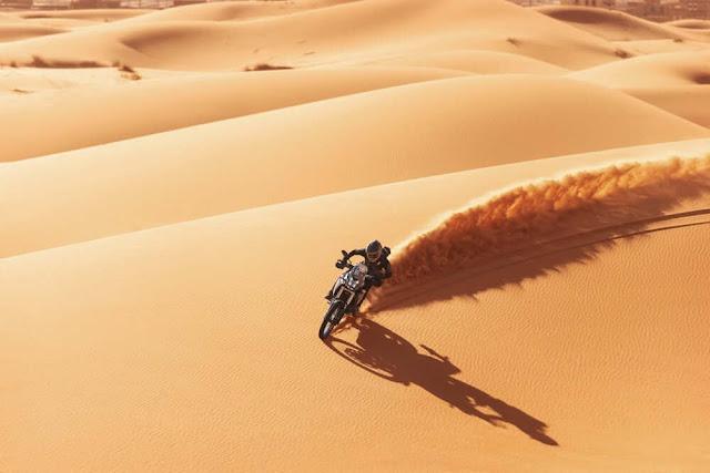 No le temas a la arena con la Yamaha Tenere 700