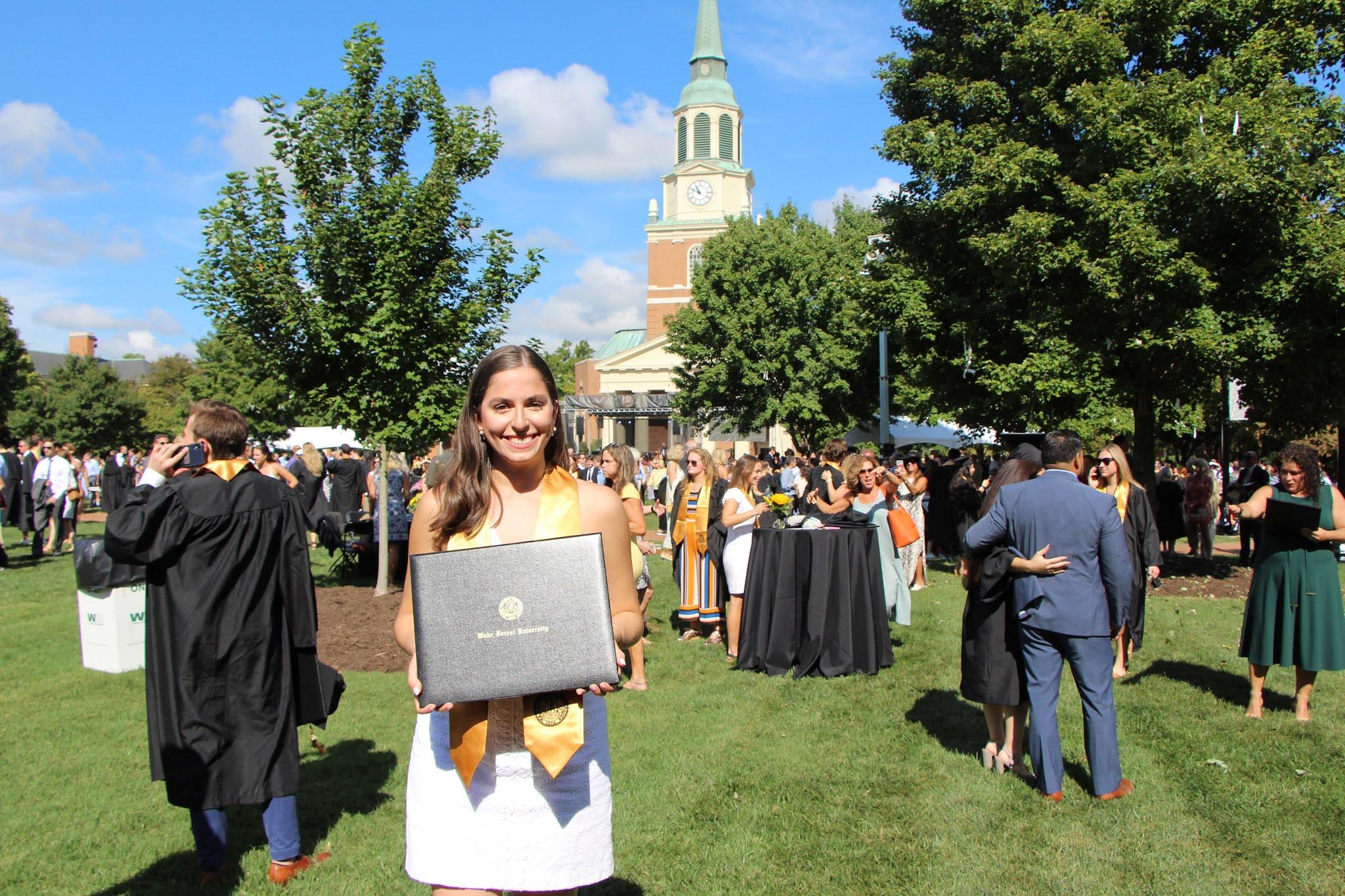 wake, wfu, graduation