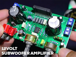 12Volt Subwoofer Amplifier