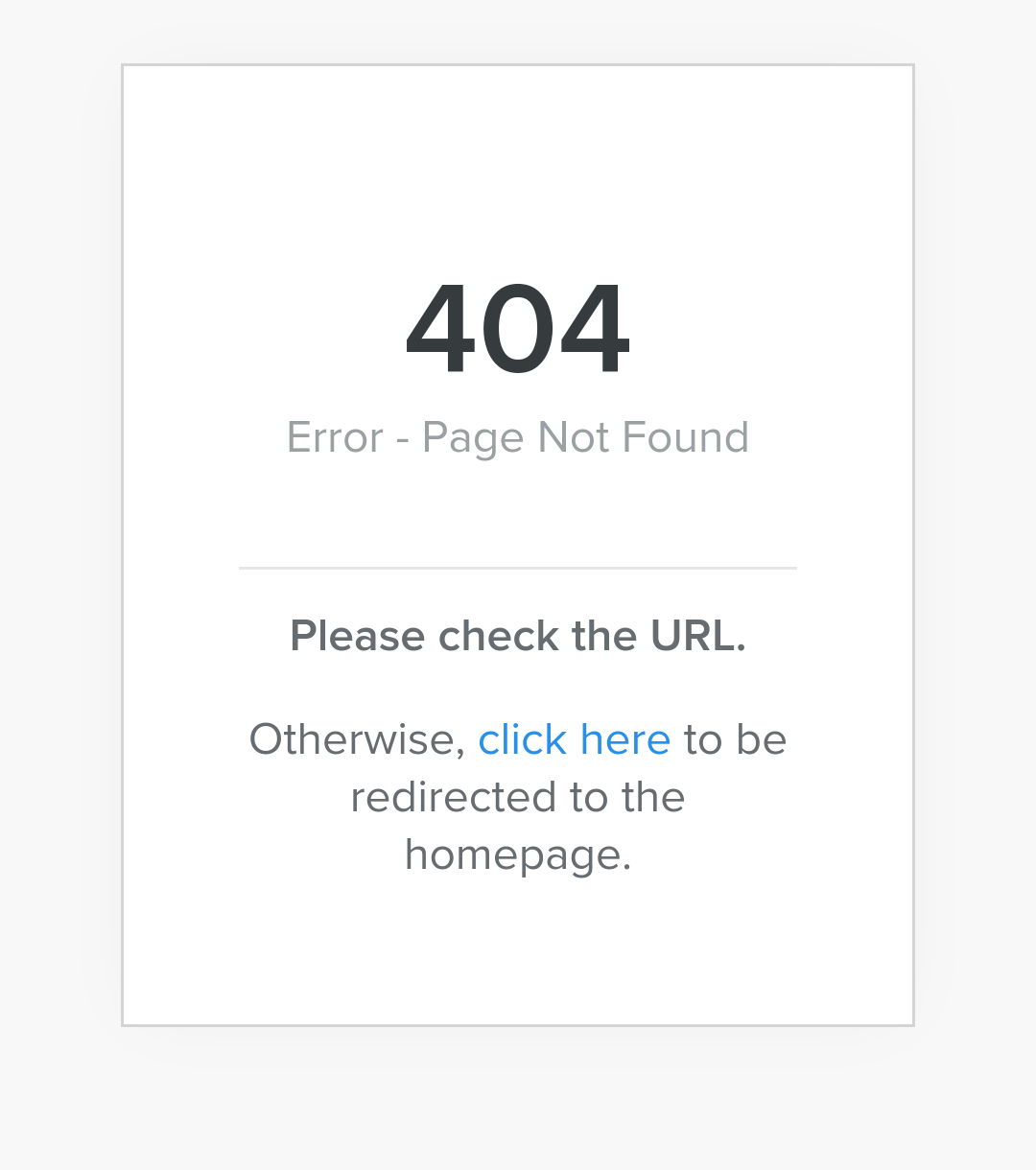 404 page not found something is