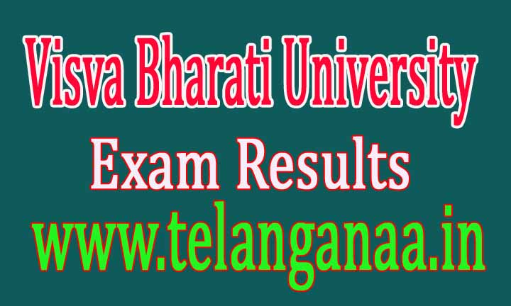 Visva Bharati University BA B.Sc Sem IInd Supply 2015-16 Exam Results