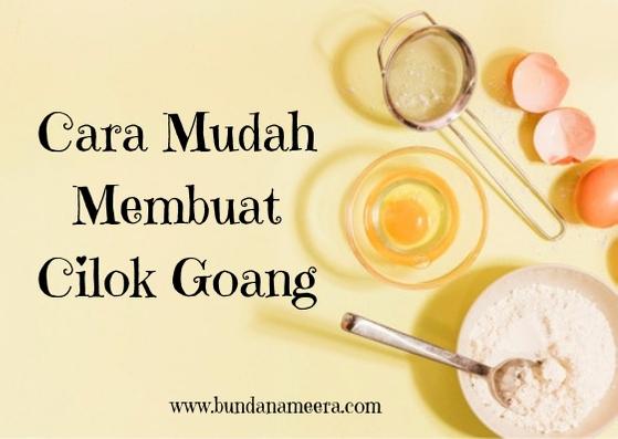 Cara Mudah Membuat Cilok Goang, resep membuat cilok goang, resep cilok, cara membuat cilok Bandung, cara membuat cireng