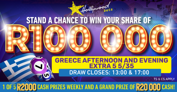 Greece Afternoon & Evening Extra 5 5/35 Draw