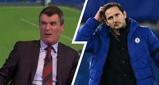 Roy Keane sends warning to Frank Lampard: 'Chelsea don't give managers time'.