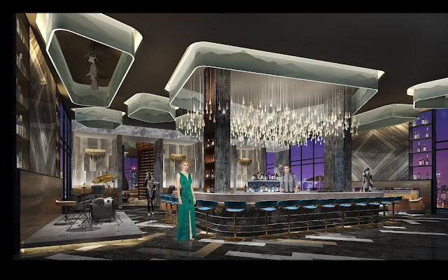 Quầy Bar tại dự án căn hộ Swisstouches La Luna Nha Trang