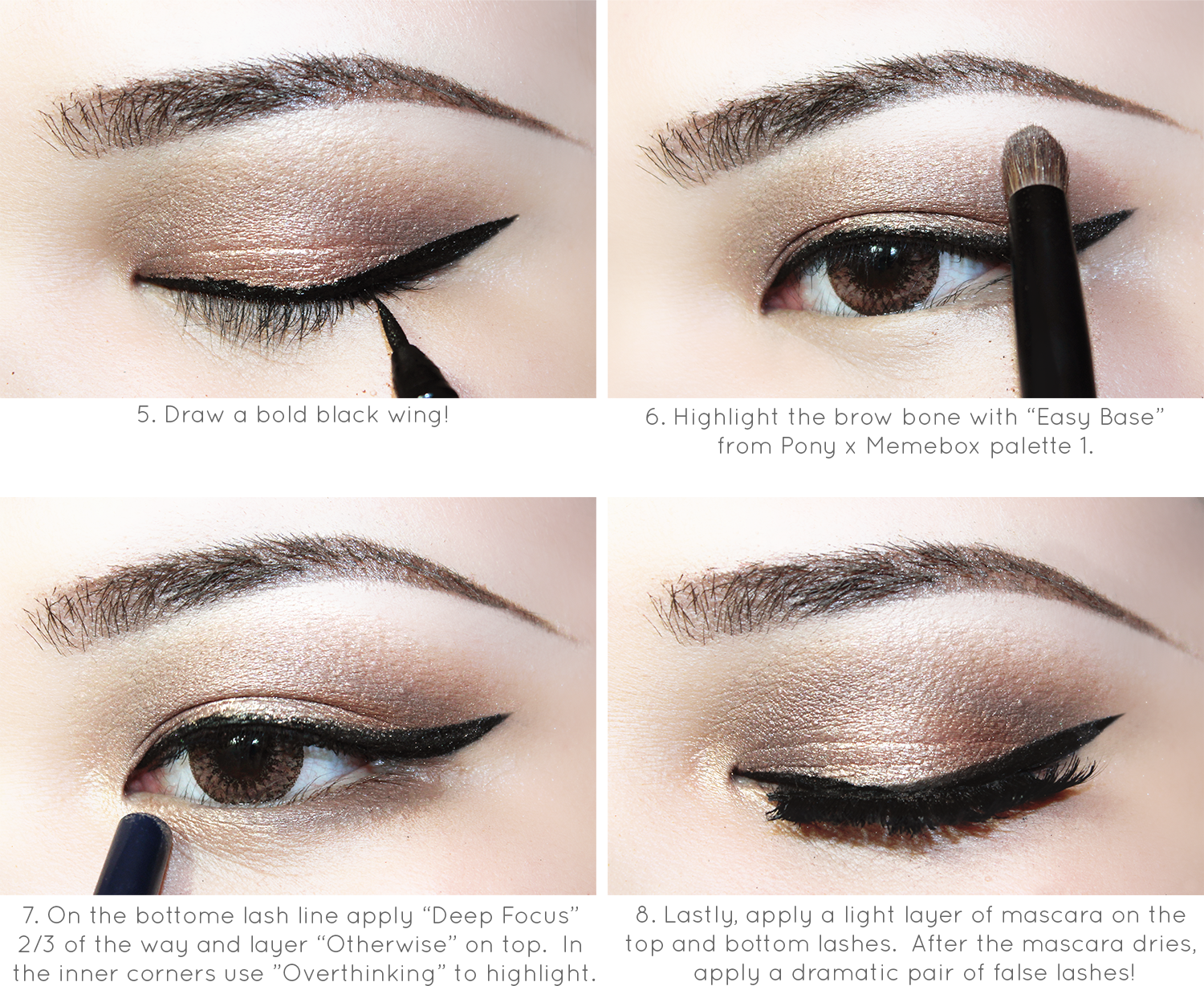 Yummmiiee uniqso semi smokey mauve eye makeup mono lid i used pony effect products when doing this tutorial head on over to this link if youd like to read my review on them baditri Images