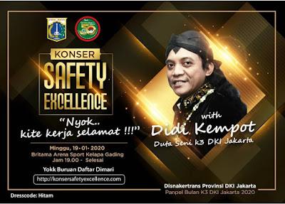 Konser Ambyar Didi Kempot Safety Excellence Kelapa Gading Jakarta