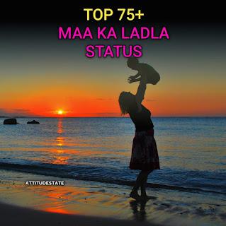 Top 75+ Maa❤️ ka Ladla Status in Hindi ( Quotes Shayai DP )