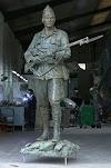 La nueva estatua que recordará el centenario de la Legión en Madrid