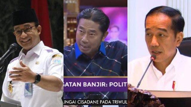 Perdebatan Sengit Haji Lullung Dengan Asaz Tigor Soal Polemik Banjir DKI, Haji Lullung Justru Ingin Gugat Jokowi