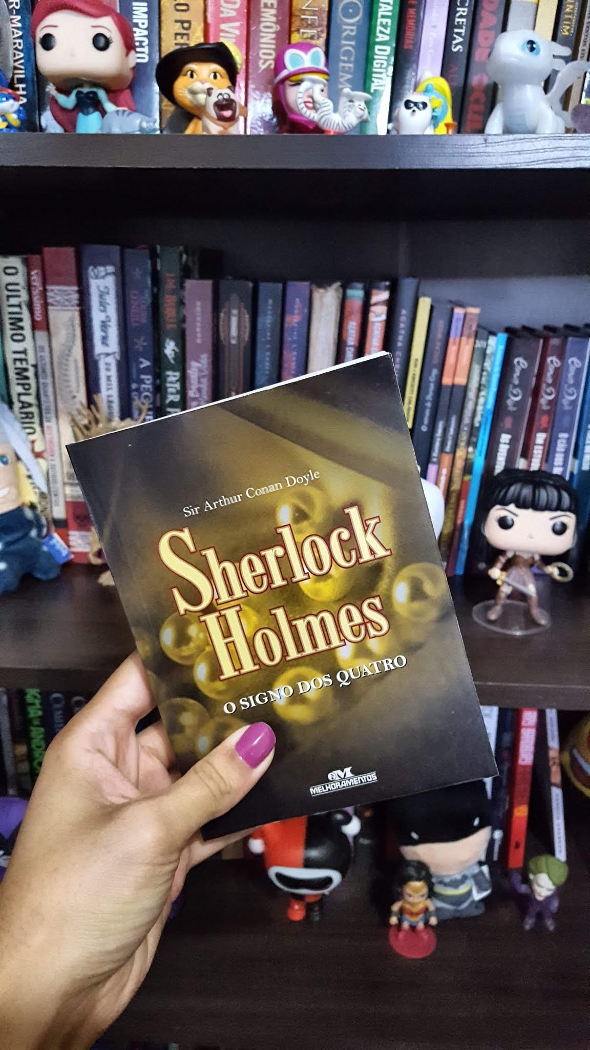 Sherlock Holmes - O signo dos quatro   Sir. Arthur Conan Doyle