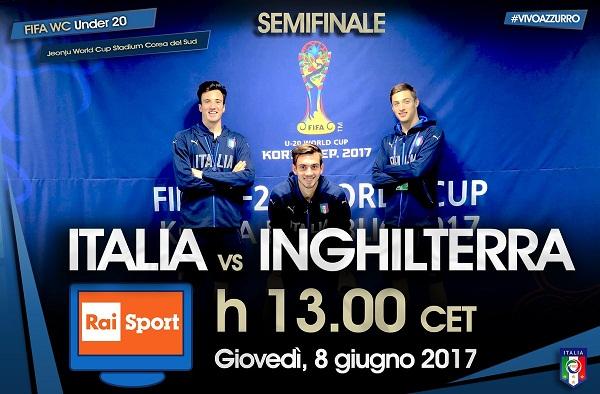 Italia U20 vs Inggris U20