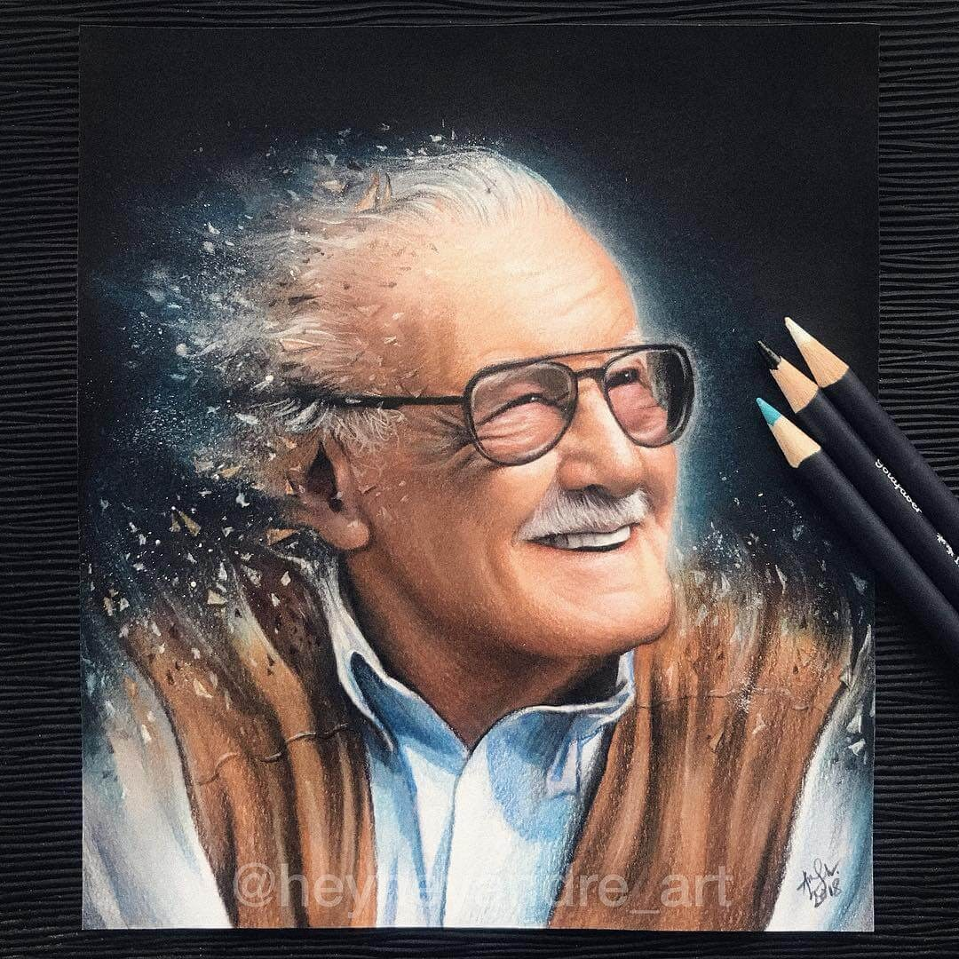 01-Stan-Lee-Tribute-A-Manguba-Drawings-of-Celebrities-and-the-Zodiac-www-designstack-co