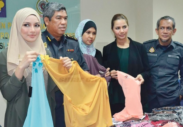 KPDNKK Rampas Tudung Naelofar Hijab Tiruan