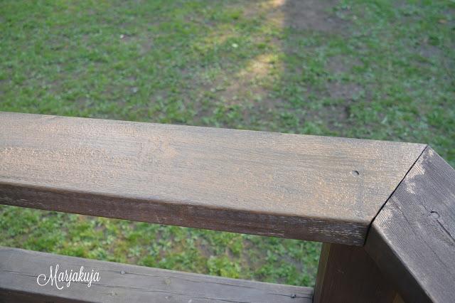 coloria puuoljy levittaminen terassi