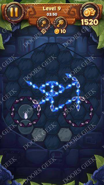 Gems & Magic [Tourmaline] Level 9 Solution, Walkthrough, Cheats