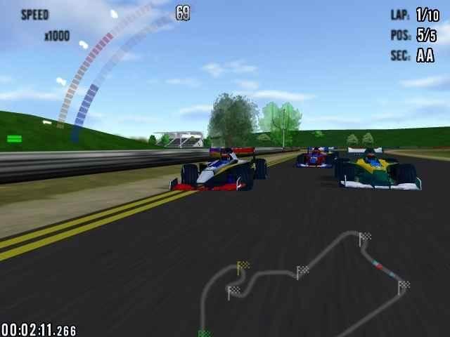 لعبة Hot Racing