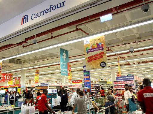 French giant retailer Carrefour Retailer  photos