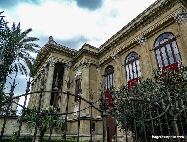 Teatro Massimo de Palermo, Sicília