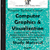 Computer Graphics Visualiazation Study Materials cum Notes PDF E-Books Free Download