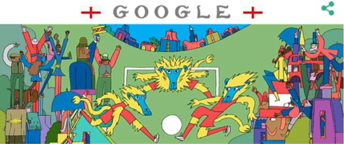 World Cup 2018 Final Google Doodle , गूगल का शानदार डूडल , क्लिक करते ही बदल जाएंगी फ़ोटो , क्रोएसिया में जश्न