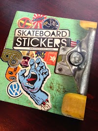 Book Review: Skateboard Stickers