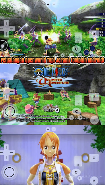 Petualangan Bajak Laut One Piece Unlimited Adventure (Dolphin Android) Action 3D TPS