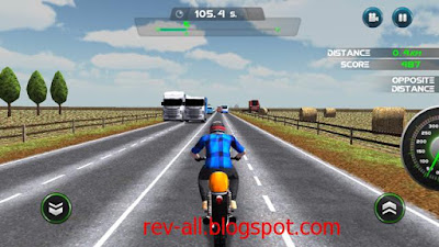 Mulai bermain game android Moto Traffic Race - Permainan mengendarai motor melawan lalu lintas ramai (rev-all.blogspot.com)