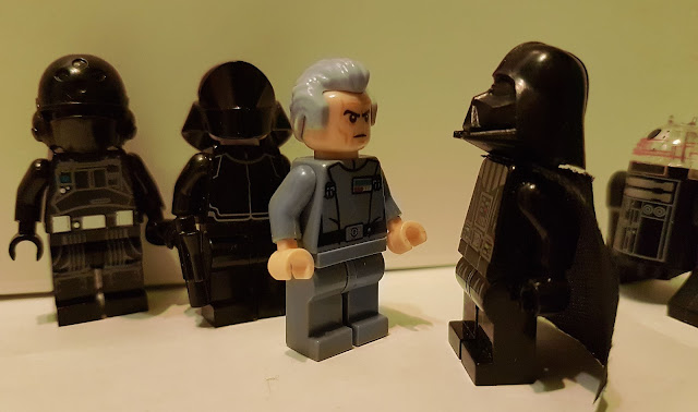 Darth Vader and Tarkin, Death Star, A New Hope lego Star Wars