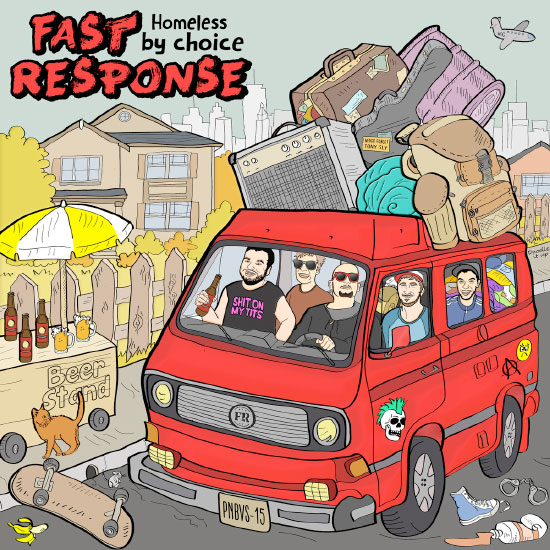 <center>Fast Response stream new EP 'Homeless By Choice'</center>