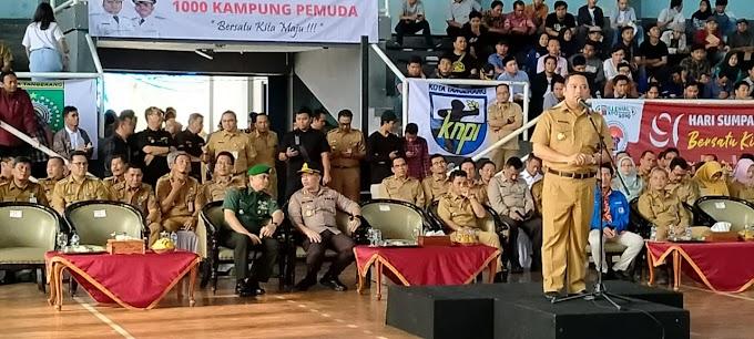 Dandim 0506/Tgr Bersama Arief Apel Pemuda Dan Deklarasi 1000 Kampung