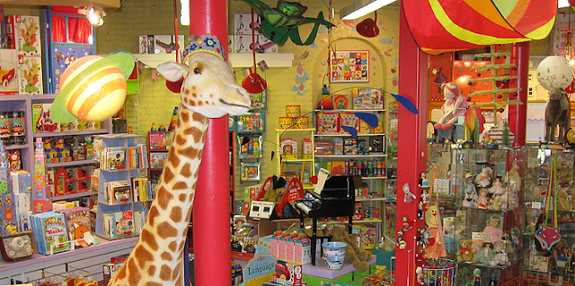 Toy Store on Massachusetts Avenue