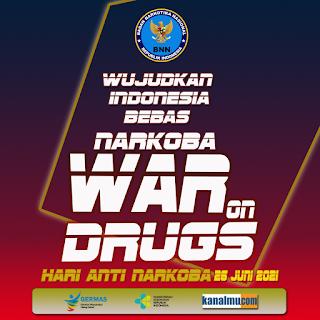 poster ucapan hari anti narkoba psd - kanalmu