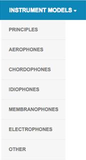Instrument Models menu. #VisualFutureOfMusic #WorldMusicInstrumentsAndTheory