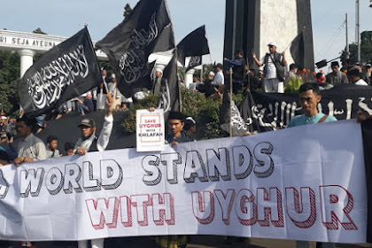 """Umat Islam Bogor Gelar Aksi Damai """"Save Uyghur"""""""