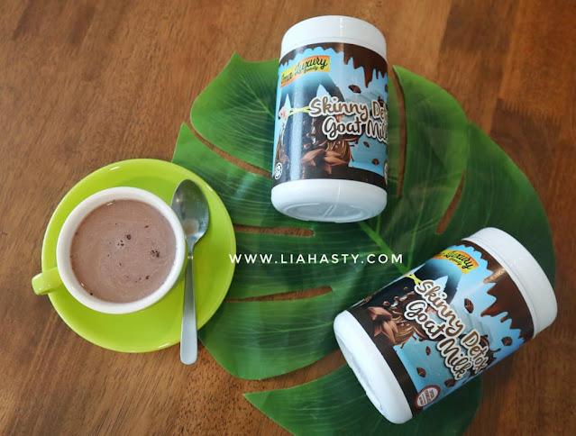 Kurus Cantik Sihat dalam Masa 7 Hari dengan Skinny Detox Goat Milk