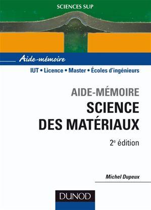 Livre :Aide-mémoire science des matériaux - 2ème édition