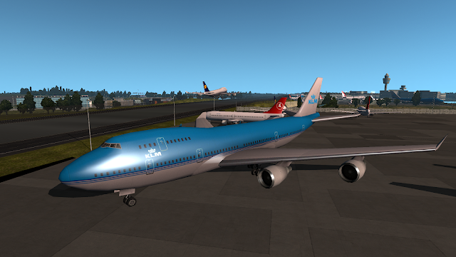ets 2 real plane livery mod screenshot 3, klm royal dutch airlines
