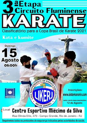 Circuito Fluminense de Karate - 3ª Etapa