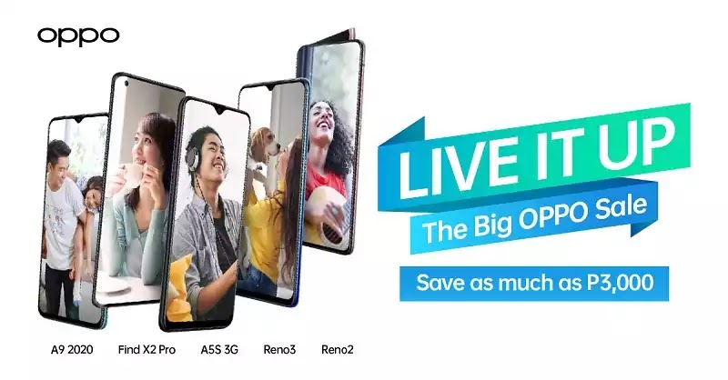OPPO Live It Up Promotion