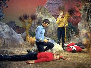 Star Trek redshirts dead. Source: Wikimedia